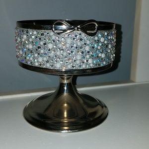 Bejeweled Candle Holder